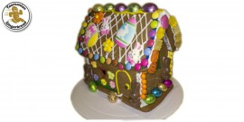 Easter Gingerbread House (Large) - Complete